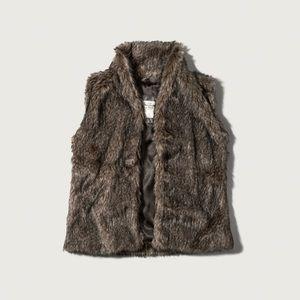Abercrombie Fur Vest